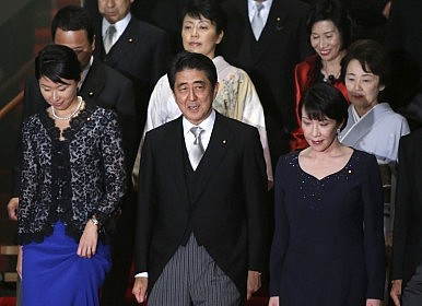 Abe Cabinet Members in Neo-Nazi Photo-Op Fail