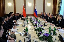 Xi Jinping, Vladimir Putin Meet Ahead of SCO Summit