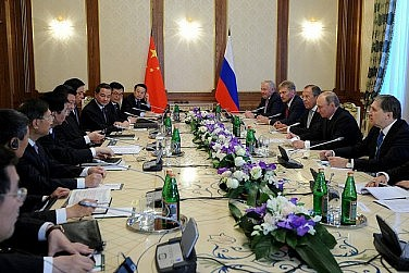 Xi Jinping, Vladimir Putin Meet Ahead of SCO Summit