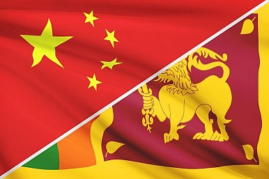 China Courts Sri Lanka