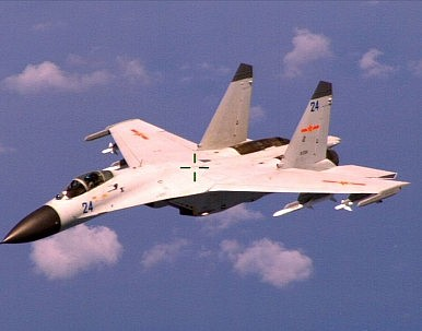 China Stations Combat Aircraft on South China Sea Island