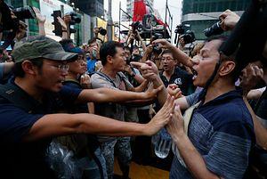 Hong Kong's Counter-Protesters