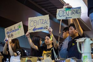 Hong Kong's Protesters: A House Divided