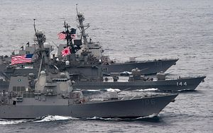 China is on 'High Alert' for Japan's 'Intervention' in South China Sea