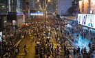 Hong Kong's Protests Are Not About the Economy, Stupid