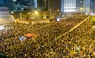 China Signals No Compromise on Hong Kong
