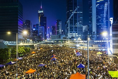 Japan Dips Its Toe into the Hong Kong Protests