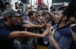 Hong Kong's Counter-Protesters