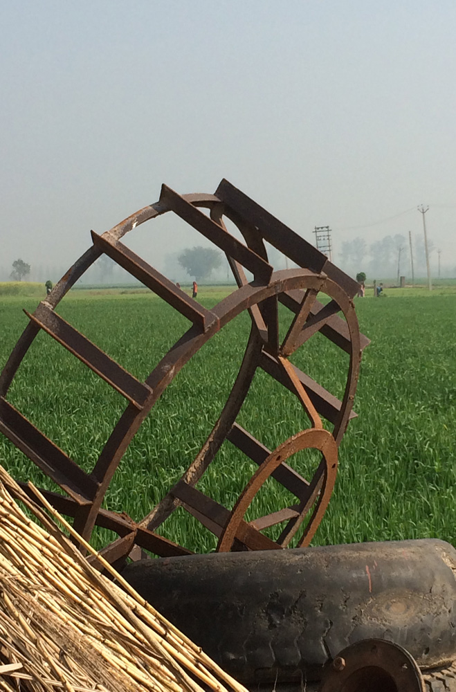 diminishing punjabi System of a punjabi village have on agriculture, and how can it affect farmers'   despite the declining farm sizes in the state, mechanization is growing.