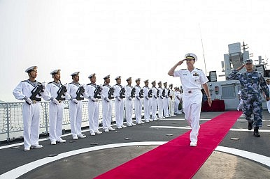 China's Navy Is Already Challenging the US in Asia