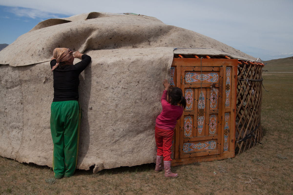 Mongolia: Nomads in Transition