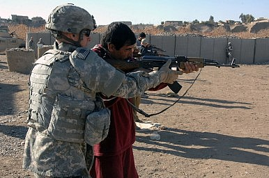 The US Can't Outsource Warfighting
