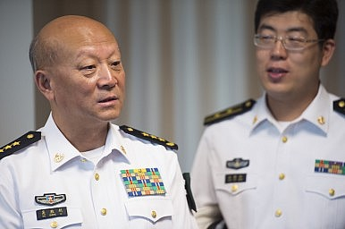 China Naval Chief Conducts 'Unprecedented' Survey of Disputed Reefs