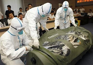 Será que SARS Prepare Ásia Oriental para o Ebola?