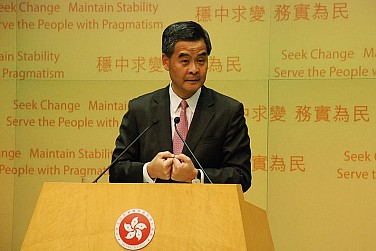 Hong Kong's Executive and Legislative Branches Clash