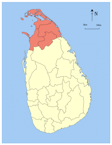 Sri Lanka Imposes Foreigner Travel Restrictions to Northern Province