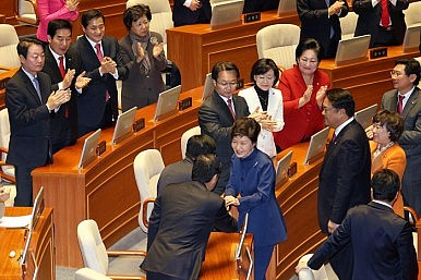 South Korea's Ruling Party Drifts Toward Civil War