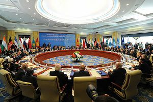 China Edging Russia out of Central Asia
