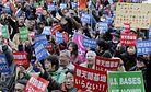Abe's Okinawa Setback