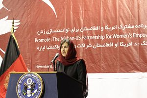Rula Ghani, Afghanistan's Unusually Prominent First Lady