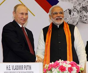 India and Russia Sign Agreements on Defense, Energy