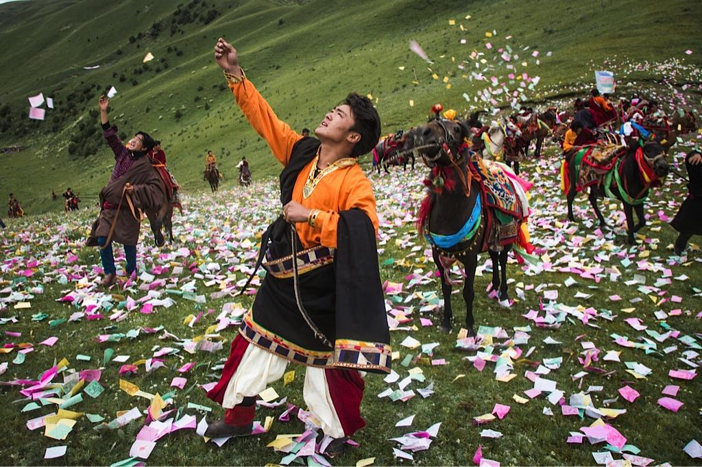 Horse Riding, Tibetan Style