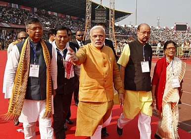 Narendra Modi's Northeast India Outreach