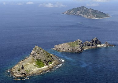 Image result for Where the barren rocks are known as the Senkakus islands