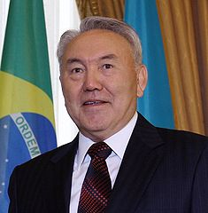 Nursultan Nazarbayev's TV Tour