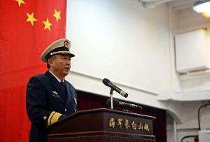 Rear Admiral Zhang Chuanshu