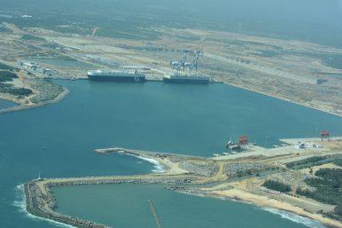 Hambantota port hi-res