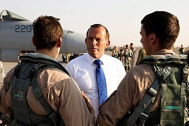 In Iraq, Australian PM Doubles Down on Fight Against Islamic State