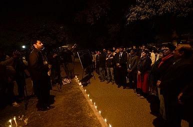Protesting in Pakistan
