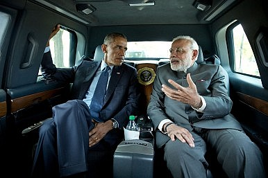 Obama, Modi to Appear on Indian National Radio Together