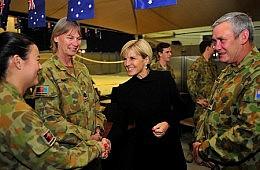 Julie Bishop Visits Afghanistan, UAE