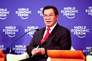 Cambodia's Hun Sen Taps Himself for Glory