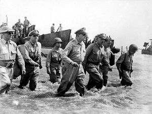 Image result for trump as macarthur returning to philippines