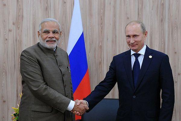 India-Russia ties