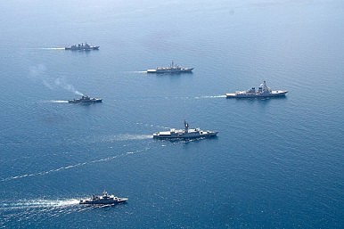 US, Thailand Launch Naval Exercise in Andaman Sea