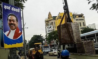 Sri Lanka's Mahinda Rajapaksa Hopes for Comeback