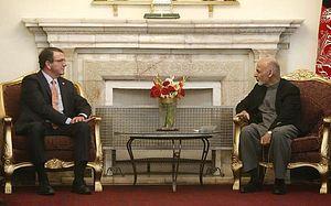 Afghan President Begins US Visit