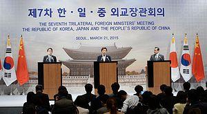 History Debate on Display at Rare China-Japan-South Korea Meeting