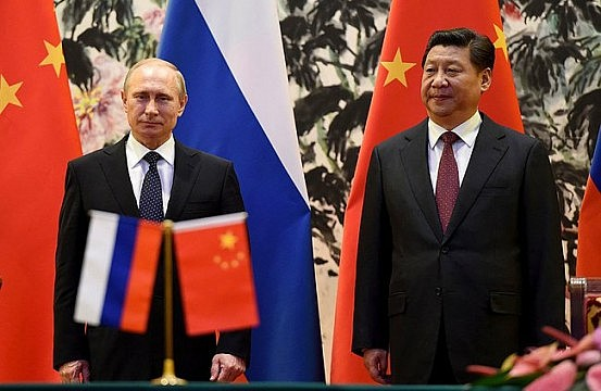 China and Russia vs. the United States?