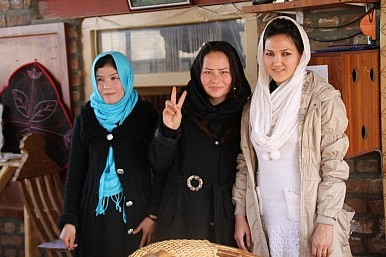 Bamiyan Women's Café: A Room of One's Own for Afghan Women