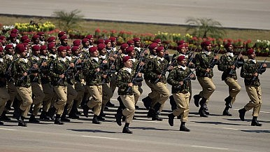 With Military Parade, Pakistan Sends Message to India, Taliban
