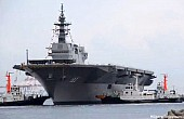 Japan Launches New Helicopter Destroyer