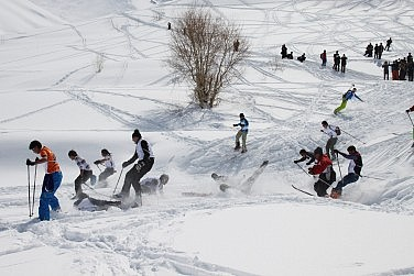 A Glimpse of Afghanistan's Future -- On the Ski Slopes