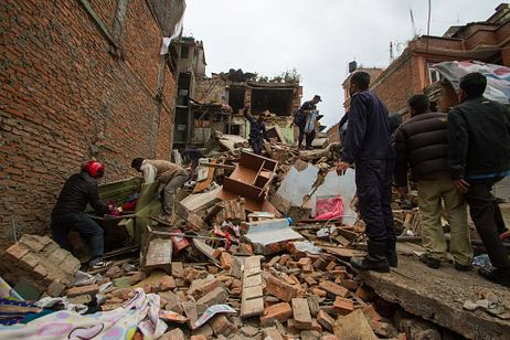 Nepal Hit By Powerful 7.8 Magnitude Earthquake, Death Toll Approaches 900