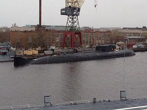 Russian Submarine Catches Fire