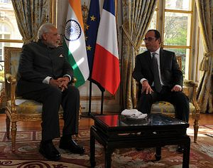 Modi's in France, But the French Don't Seem to Care